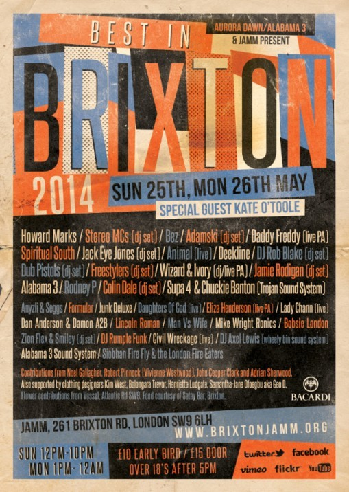 Best In Brixton returns to Brixton Jamm!